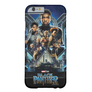 Black Panther | Characters Over Wakanda Barely There iPhone 6 Case