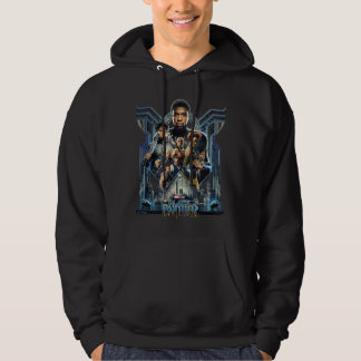 Black Panther | Characters Over Wakanda Hoodie