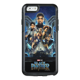 Black Panther | Characters Over Wakanda OtterBox iPhone 6/6s Case