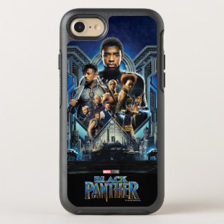 Black Panther | Characters Over Wakanda OtterBox Symmetry iPhone 8/7 Case