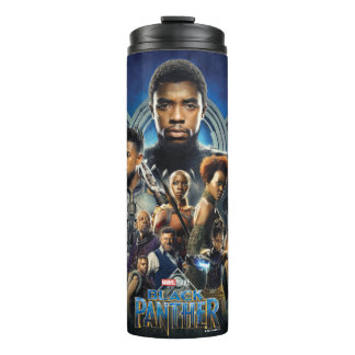 Black Panther | Characters Over Wakanda Thermal Tumbler