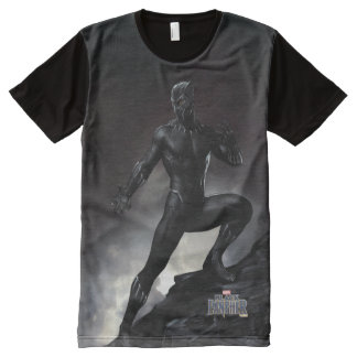 Black Panther | Claws Out All-Over Print T-Shirt