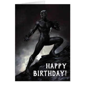 Black Panther   Claws Out Card