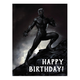 Black Panther | Claws Out Postcard