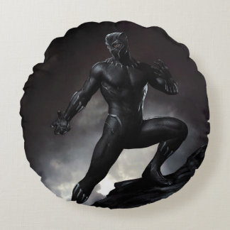 Black Panther | Claws Out Round Cushion