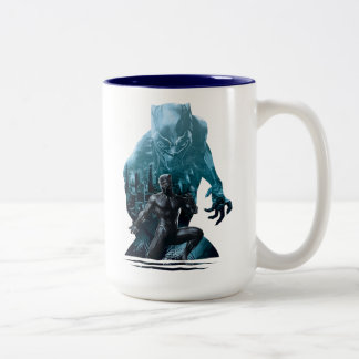 Black Panther | Claws Out Two-Tone Coffee Mug