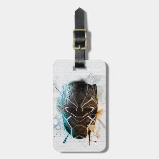 Black Panther | Dual Panthers Street Art Luggage Tag