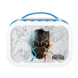Black Panther | Dual Panthers Street Art Lunch Box