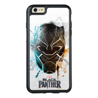 Black Panther | Dual Panthers Street Art OtterBox iPhone 6/6s Plus Case