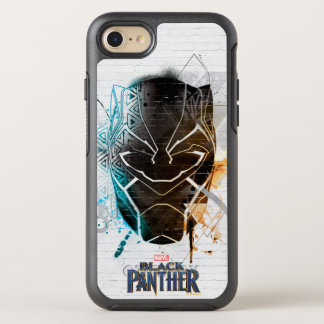 Black Panther | Dual Panthers Street Art OtterBox Symmetry iPhone 8/7 Case