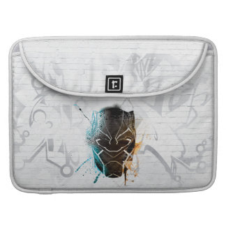 Black Panther | Dual Panthers Street Art Sleeve For MacBook Pro