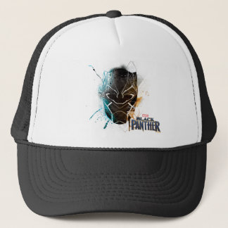 Black Panther | Dual Panthers Street Art Trucker Hat