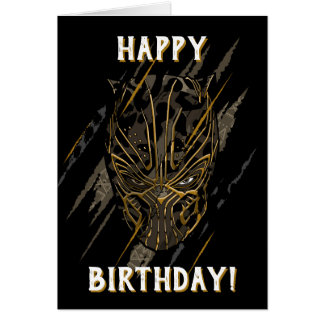 Black Panther   Erik Killmonger Claw Marks Card