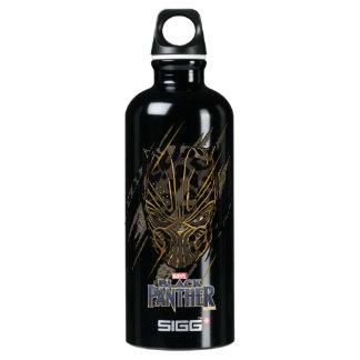 Black Panther   Erik Killmonger Claw Marks Water Bottle