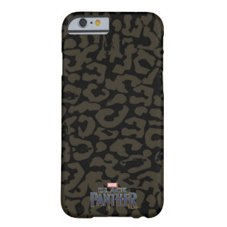 Black Panther | Erik Killmonger Panther Pattern Barely There iPhone 6 Case