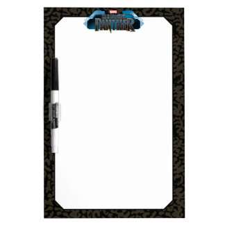 Black Panther | Erik Killmonger Panther Pattern Dry Erase Board