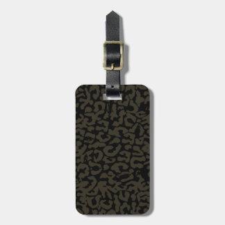 Black Panther | Erik Killmonger Panther Pattern Luggage Tag