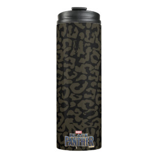 Black Panther | Erik Killmonger Panther Pattern Thermal Tumbler