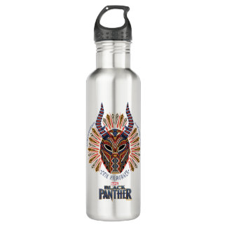 Black Panther | Erik Killmonger Tribal Mask Icon 710 Ml Water Bottle