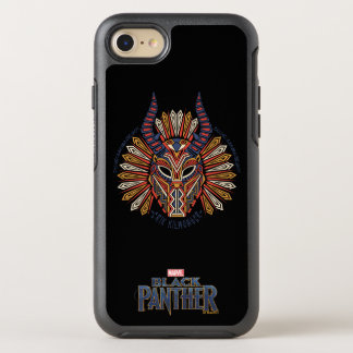 Black Panther | Erik Killmonger Tribal Mask Icon OtterBox Symmetry iPhone 8/7 Case