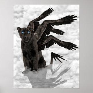 Black Panther Faery Print
