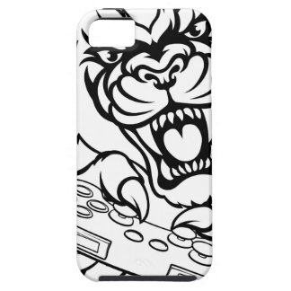Black Panther Gamer Mascot iPhone 5 Cover