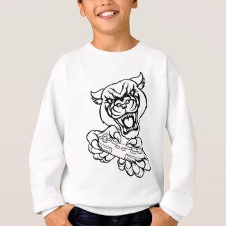 Black Panther Gamer Mascot Sweatshirt