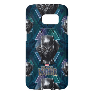 Black Panther | Geometric Character Pattern