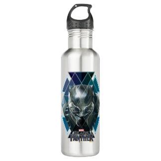 Black Panther   Geometric Character Pattern 710 Ml Water Bottle