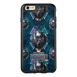 Black Panther | Geometric Character Pattern OtterBox iPhone 6/6s Plus Case