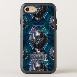 Black Panther | Geometric Character Pattern OtterBox Symmetry iPhone 8/7 Case