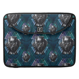 Black Panther | Geometric Character Pattern Sleeve For MacBook Pro