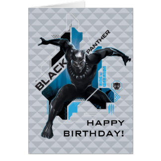 Black Panther   High-Tech Character Graphic Card