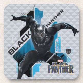 Black Panther | High-Tech Character Graphic Coaster