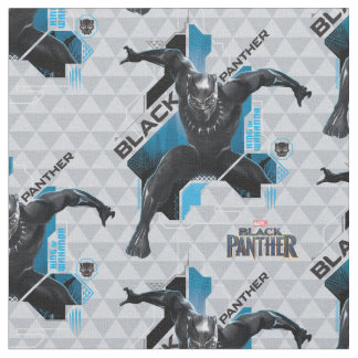 Black Panther | High-Tech Character Graphic Fabric