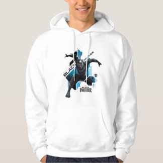 Black Panther | High-Tech Character Graphic Hoodie
