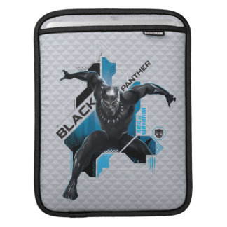 Black Panther   High-Tech Character Graphic iPad Sleeve