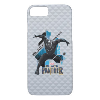 Black Panther | High-Tech Character Graphic iPhone 8/7 Case