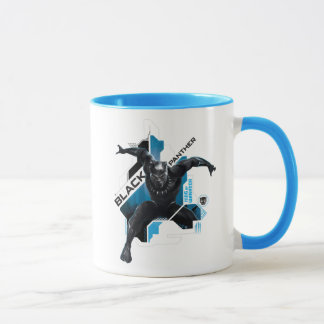 Black Panther | High-Tech Character Graphic Mug