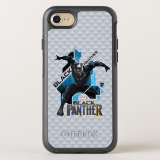 Black Panther | High-Tech Character Graphic OtterBox Symmetry iPhone 8/7 Case