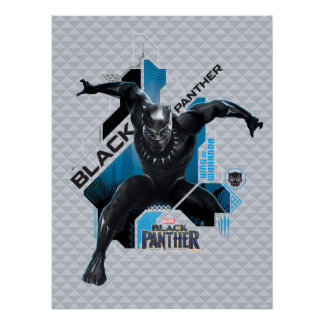 Black Panther | High-Tech Character Graphic Poster