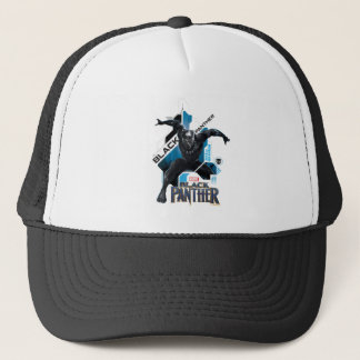 Black Panther | High-Tech Character Graphic Trucker Hat