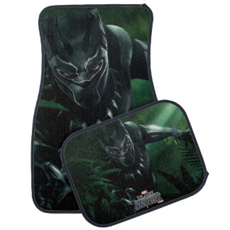 Black Panther | In The Jungle Car Mat