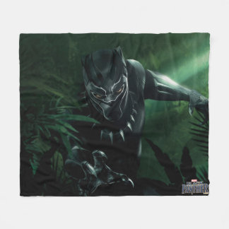 Black Panther | In The Jungle Fleece Blanket
