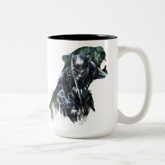 Black Panther | In The Jungle Two-Tone Coffee Mug