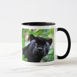 Black Panther Macro Mug