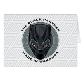 Black Panther | Made In Wakanda Card