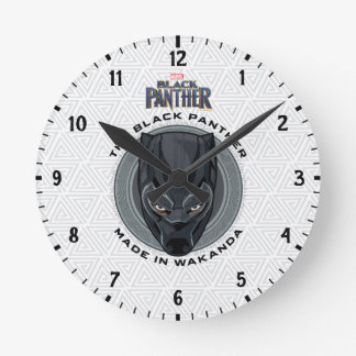 Black Panther | Made In Wakanda Round Clock