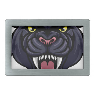 Black Panther Mascot Belt Buckle