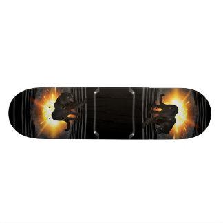 Black Panther Music Video Theme Custom Skateboard